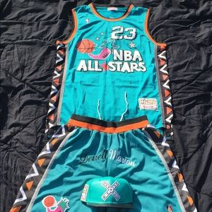 NBA Jerseys & Bottoms with SnapBack size XL & XXL